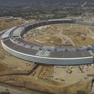 Foster + Partners' Apple Campus 2 begins to take shape in drone video