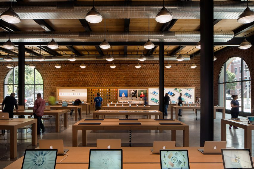 Apple store, Williamsburg by Bohlin Cywinski Jackson