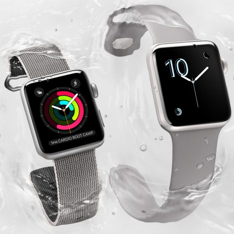 "Apple Watch Series 2 is ""completely reengineered"" for swimming"