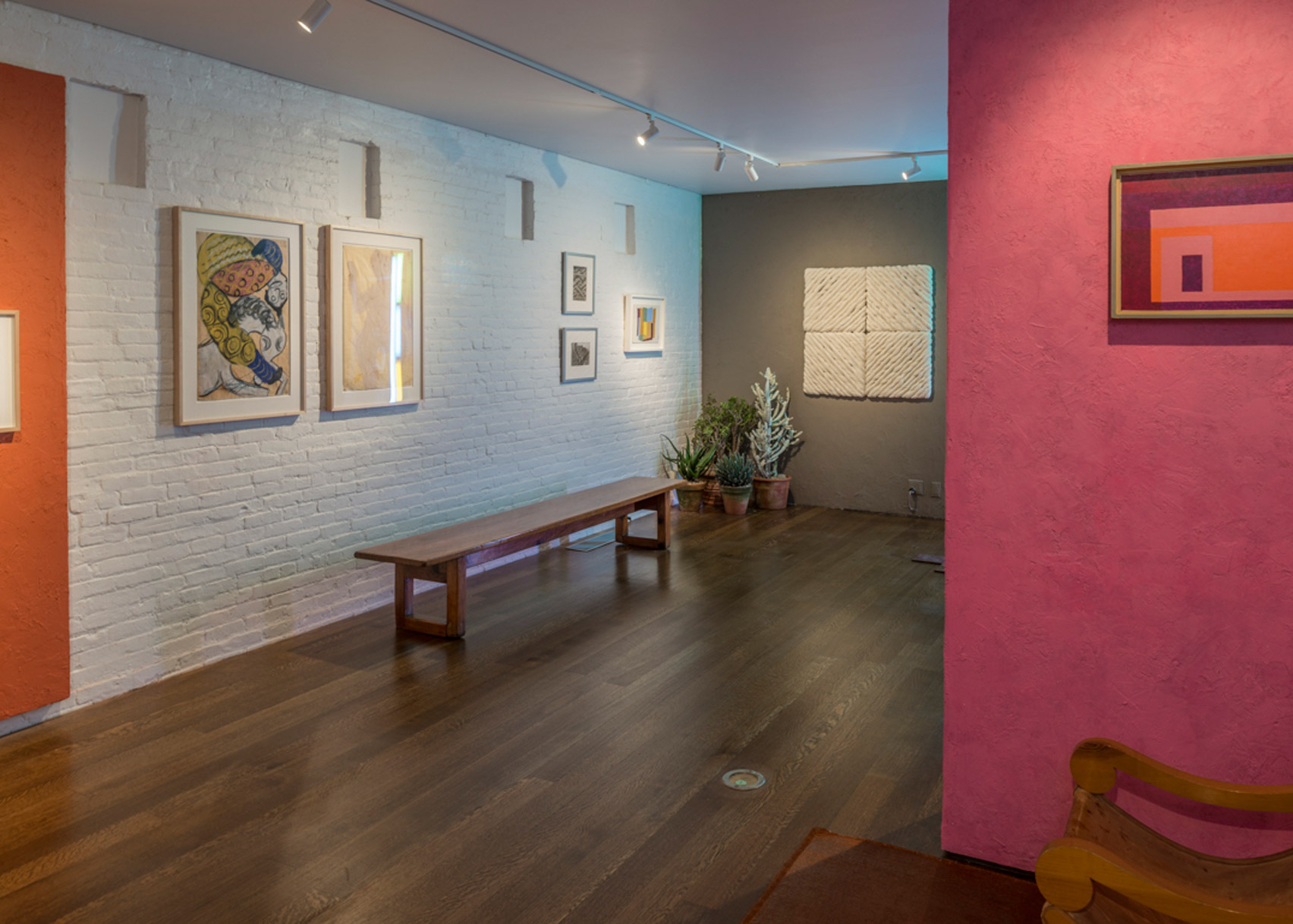 Architecture of Color: The Legacy of Luis Barragán exhibition at Timothy Taylor, New York