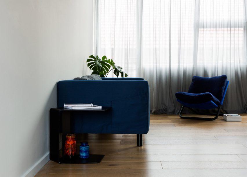 Dominic Kuneman Creates Minimal Interior For Sydney Micro Apartment Extraordinary Interior Design Schools Sydney Minimalist