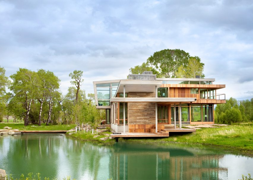 Big Timber Riverside by HUUM