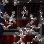 Omer Arbel suspends aluminium lighting sculpture above Barbican foyer
