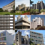 Dezeen's latest Pinterest board celebrates iconic Brutalist architecture