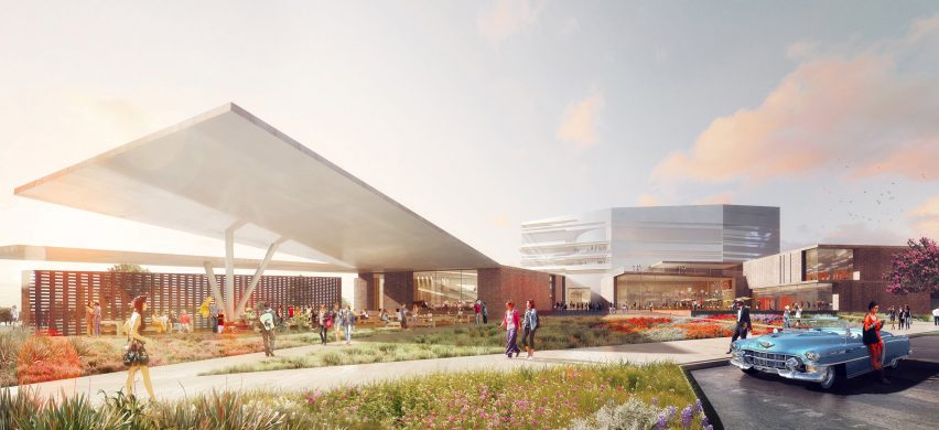 Diamond Schmitt Architects reveals Buddy Holly Hall of Performing Arts for Texas