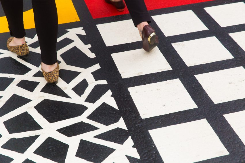LDF: Camille Walala crossing