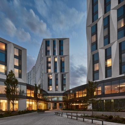 ampus North Residential Commons, University of Chicago by Studio Gang