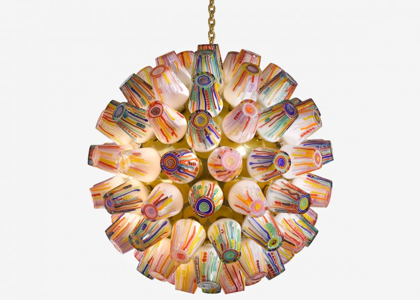 Luminaire GlasLove charity auction