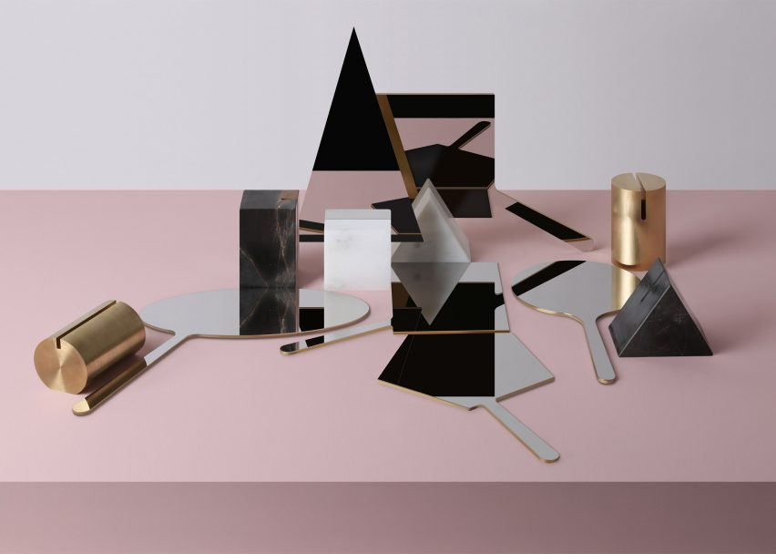 Richard Yasmine's Ashkal mirrors slice into geometric bases