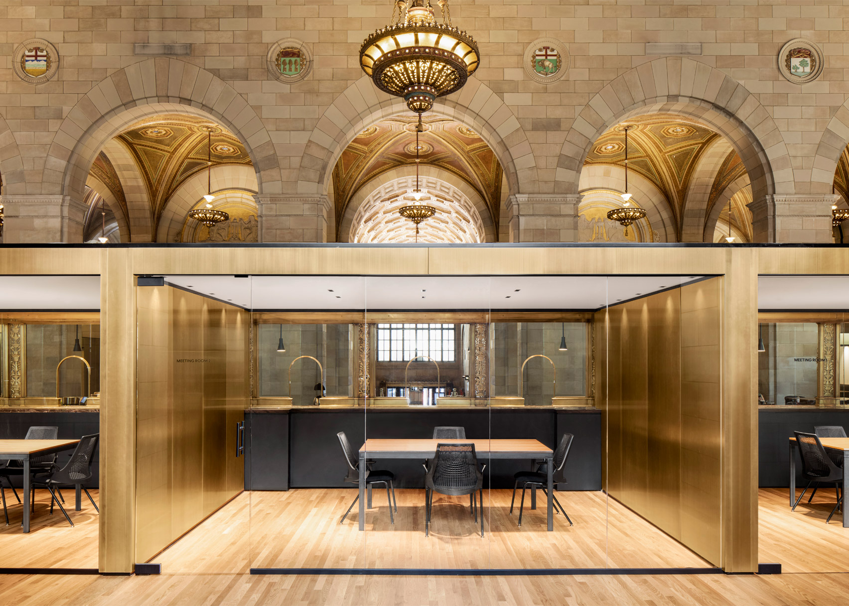 Crew Offices and Café by Henri Cleinge