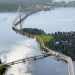Knight Architects unveils design for Finland's longest bridge