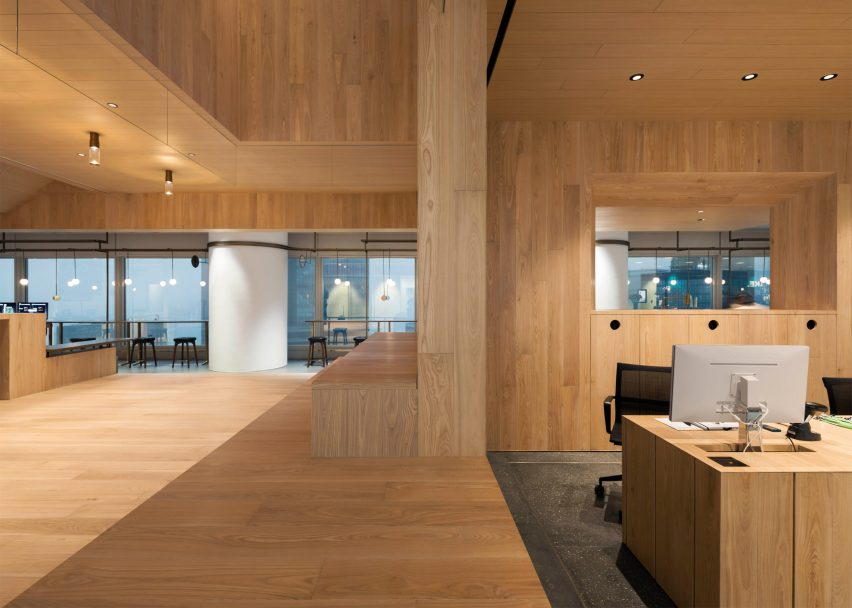 Bloomberg Hong Kong Office by Neri&Hu
