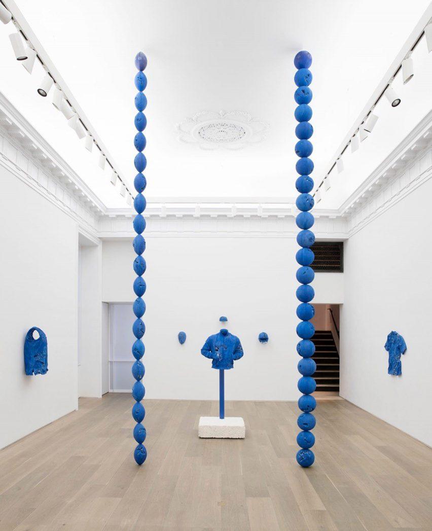 Daniel Arsham Circa 2345 at Galerie Perrotin