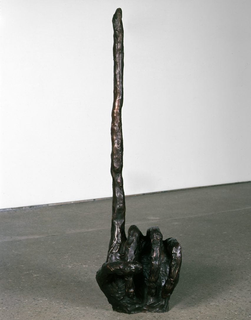 Pointing Hand, 2008. Image courtesy of Anton Kern Gallery