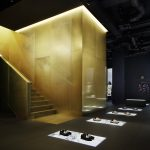 Golden staircase sits at the centre of Curiosity's dramatic Dolce & Gabbana Aoyama store