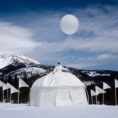 Dress Tents by Robin Lasser and Adrienne Pao are part shelter, part attire