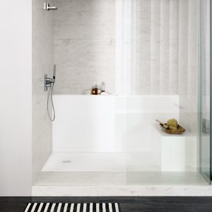 DuPont Corian introduces bathtub and shower trays