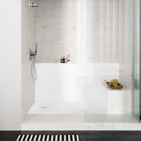 DuPont Corian introduces new bathand shower tray collections