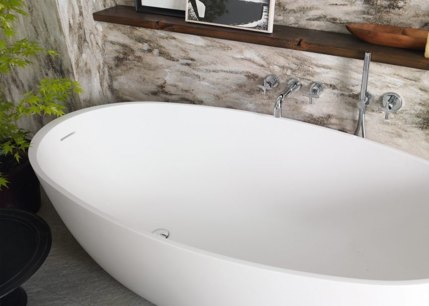 DuPont™ Corian® introduces bathtubs and shower trays for residential and commercial environments