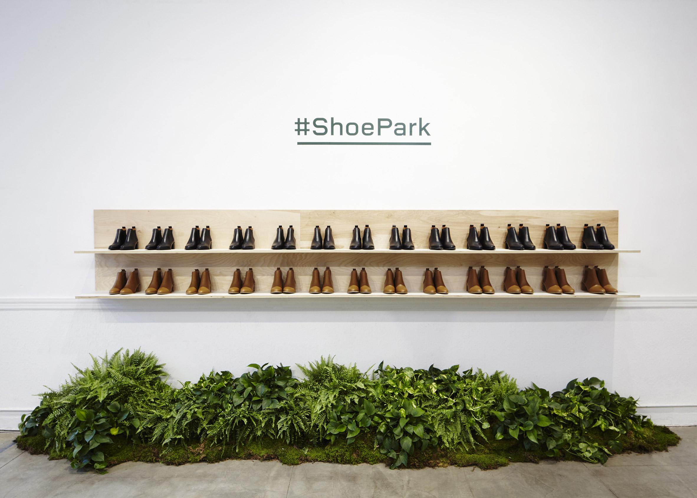 Everlane Shoe Park by Robert Storey