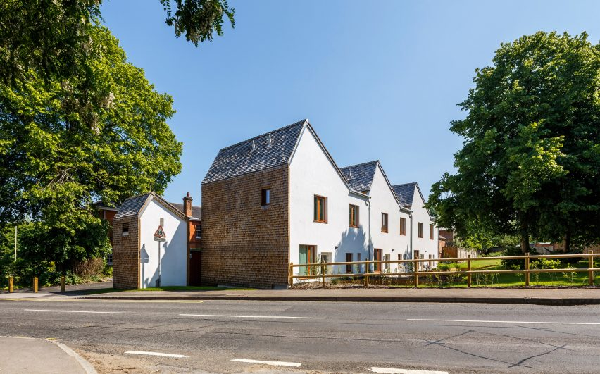 Exhibition Mews by Ash Sakula Architects shortlisted for the RIBA Stephen Lawrence award