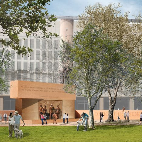 Gehry's Eisenhower Memorial finally approved by former US president's family