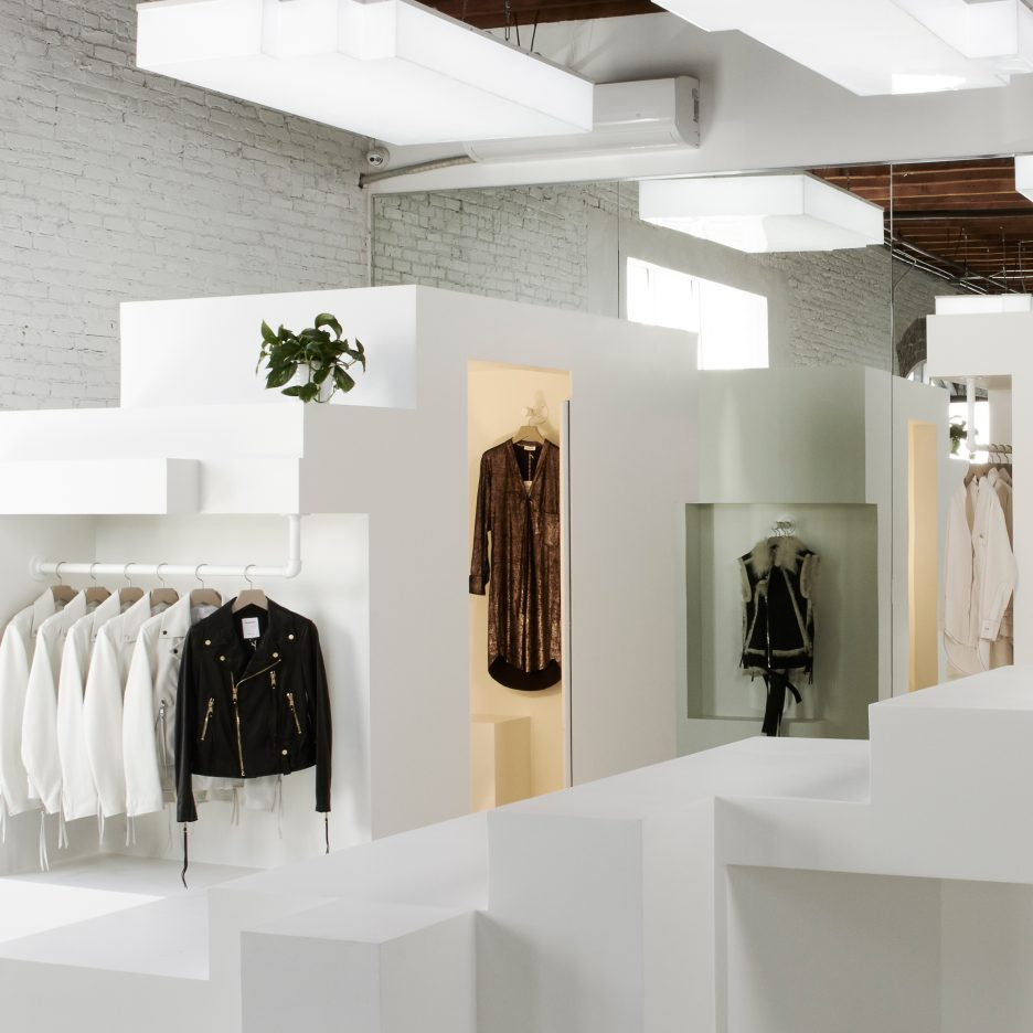 Bureau spectacular creates interlocking moveable displays for Bureau spectacular