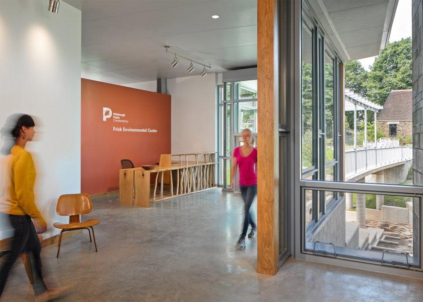 Frick Environmental Center by Bohlin Cywinski Jackson