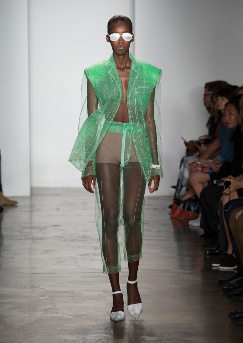 Gahee Lim's graduate fashion collection from Parsons School of Design
