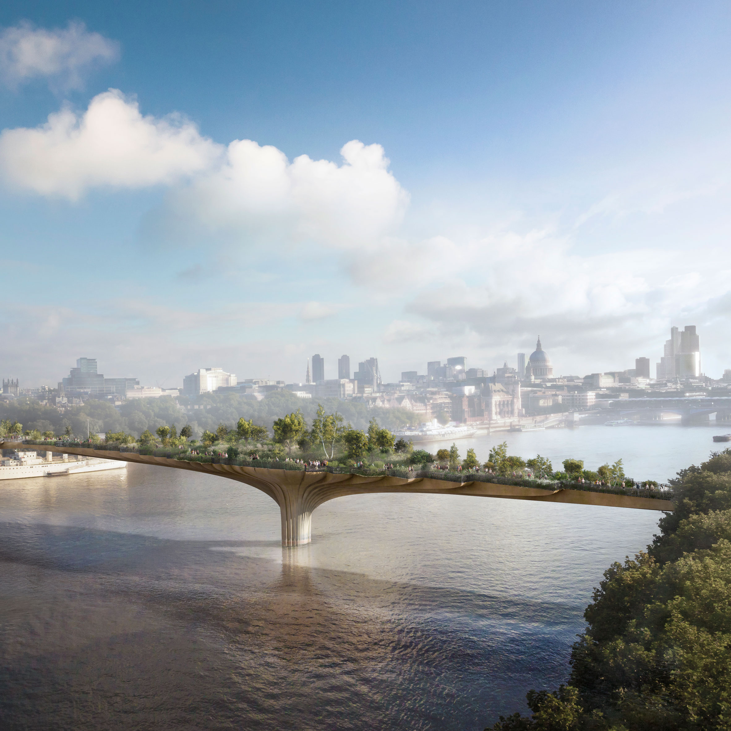 London mayor launches inquiry into finances of contentious Garden Bridge