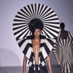 Gareth Pugh recreates sun motifs from opera costumes for Spring Summer 2017