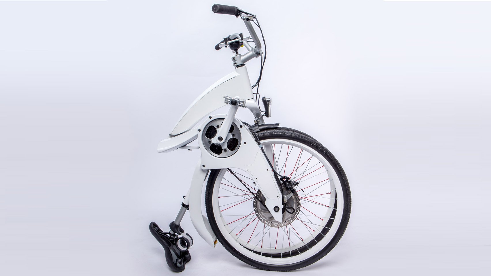 80b7098947b Electric bicycle Gi FlyBike can be folded up in a second