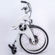 Electric bicycle Gi FlyBike can be folded up in a second