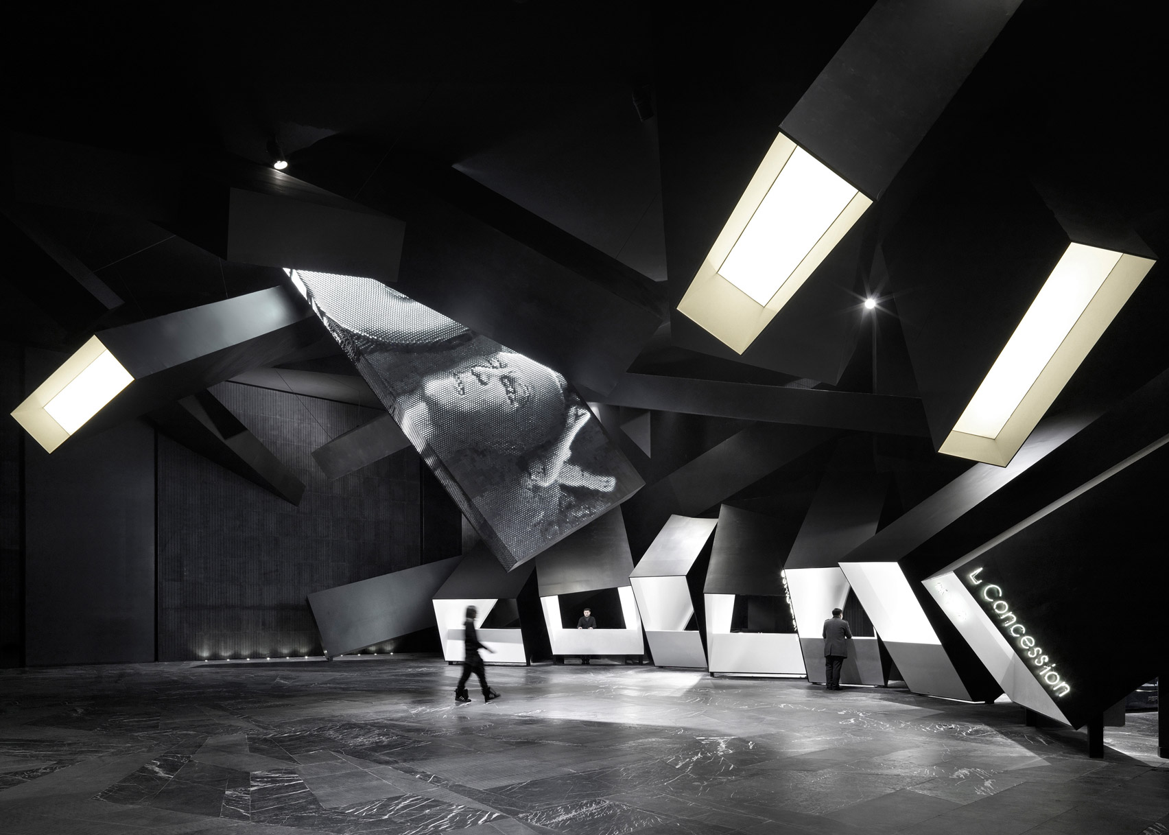 Exploded Cinema by Ajax Law and Virginia Lung – Golden A' Interior Space, Retail and Exhibition Design Award in 2016