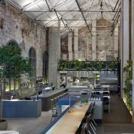 DesignOffice converts disused power station into restaurant in Melbourne