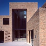 Trio of brick volumes form Highgate House by Carmody Groarke