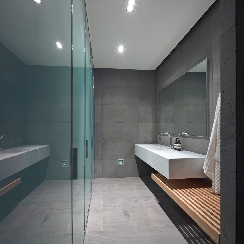 House 20 by Jolson features in Dezeen's Pinterest bathroom roundup