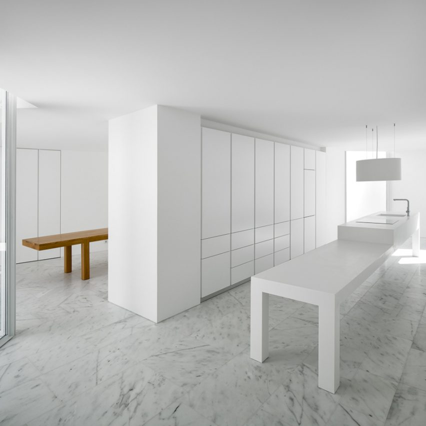 House in Alcobaca by Aires Mateaus is one of the 10 most popular marble interiors on Pinterest