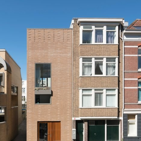 Fifteen tonnes of rubble used to build Rotterdam house by Architectuur Maken