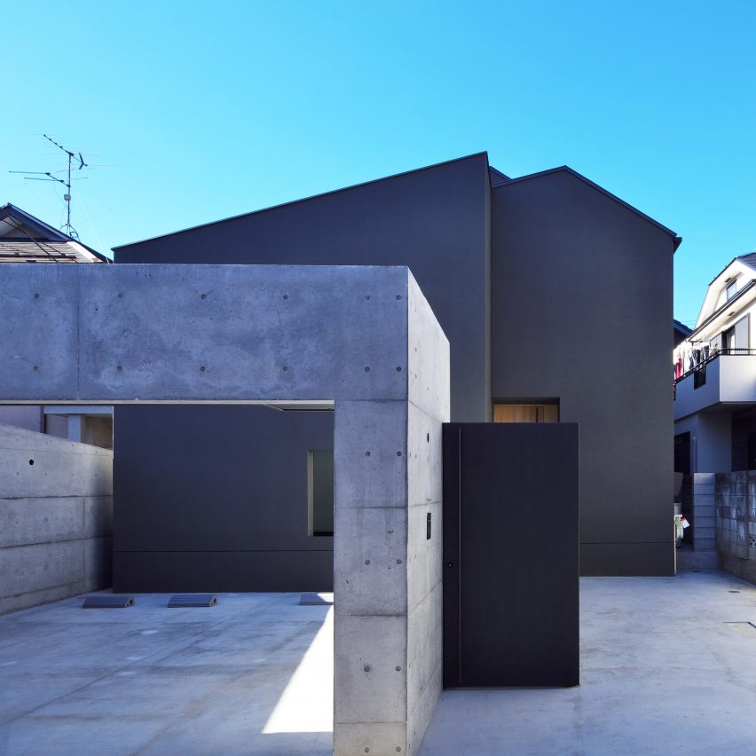 Japanese houses: House of Fluctuations by Satoru Hirota Architects
