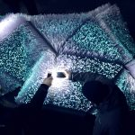 Universal Assembly Unit creates pulsing Light Pollination installation for iGuzzini