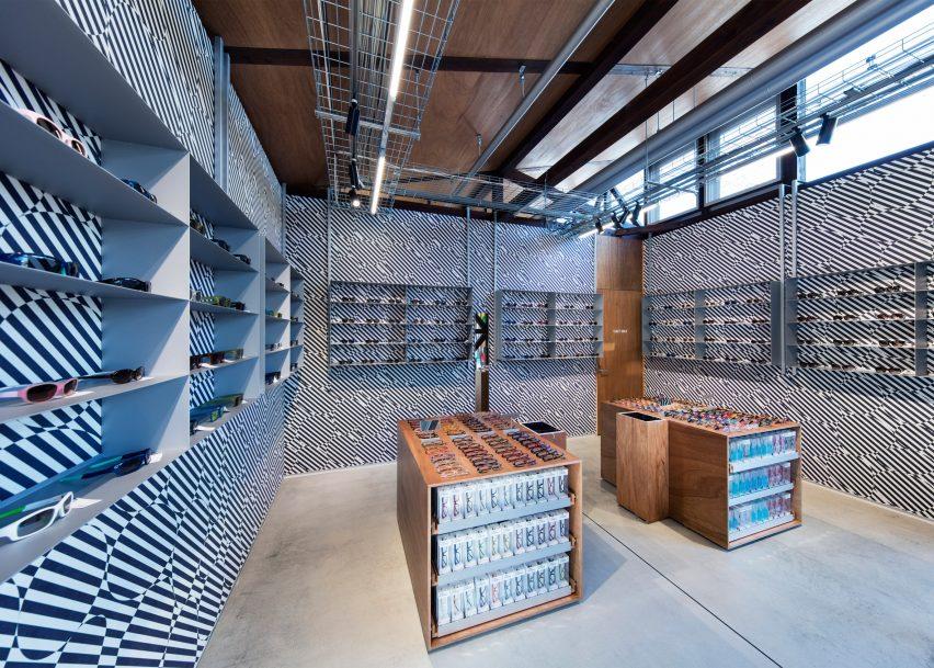 Jins eyewear shop by Schemata