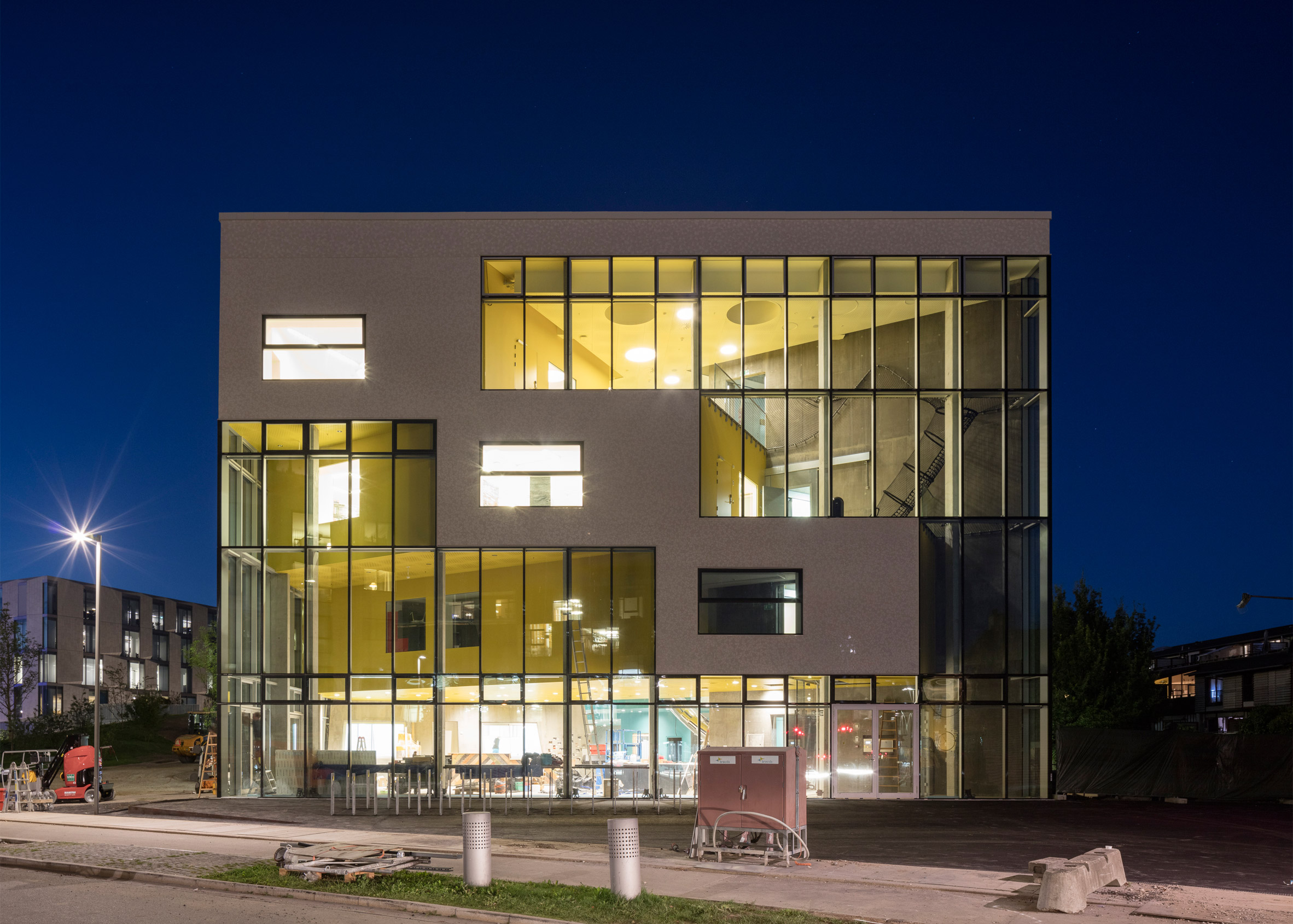 MVRDV creates Ku.Be a community centre in Denmark