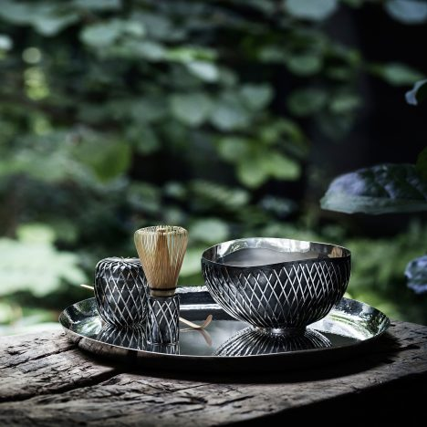 Kengo Kuma designs £60,500 silver tea set for Georg Jensen