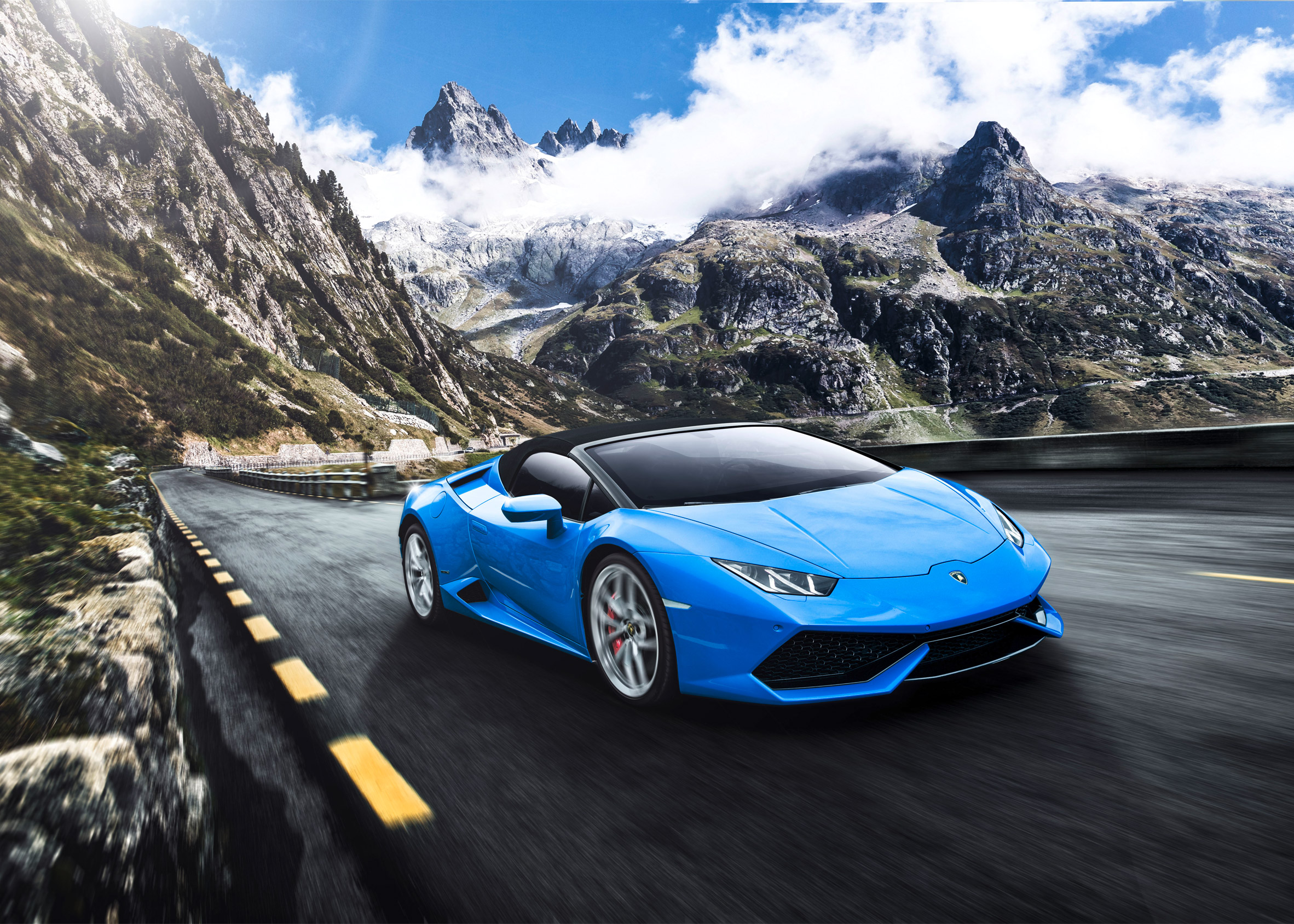 YAC'S Lamborghini Road Monument competition