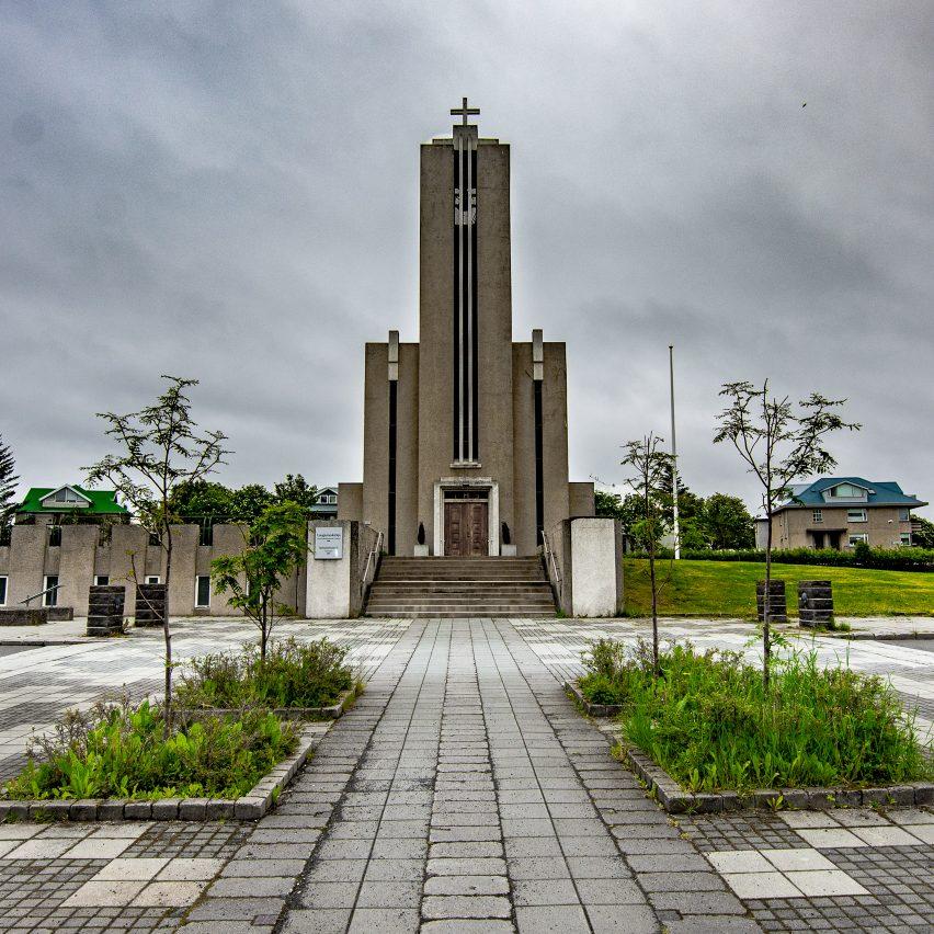Lauganeskirkja by Guðjón Samúelsson, 1949. Photo by Viv Lynch