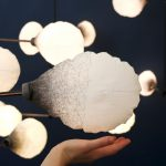 Mischer'Traxler creates light mobile that dims when unbalanced for London Design Biennale