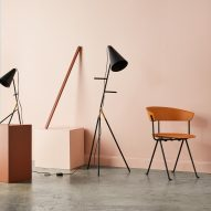 Lightly introduces homeware collection with brass stationery and marionette-like lamps
