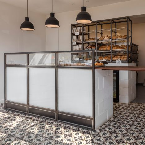 Lucy Tauber converts old London post office into light-filled bakery