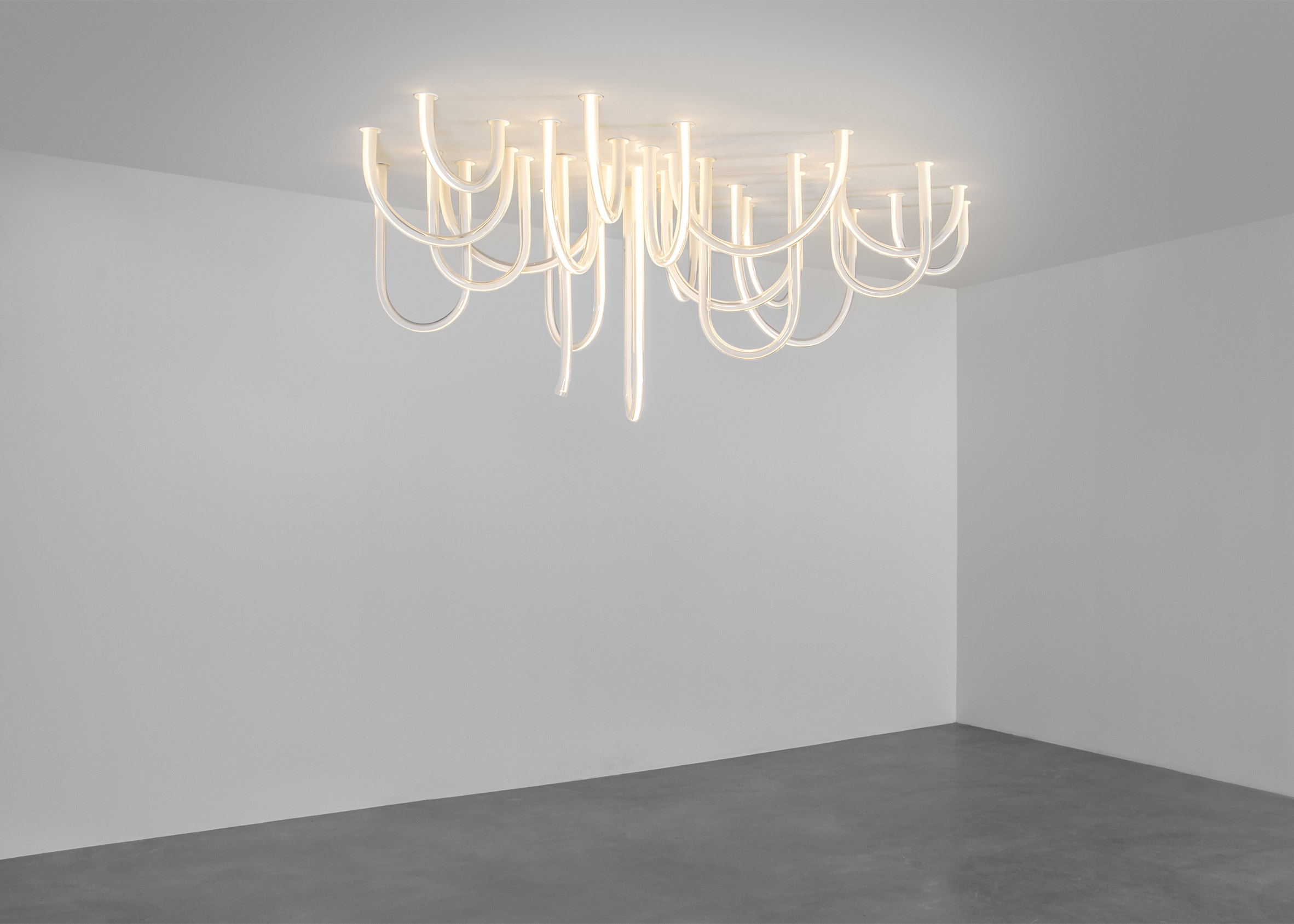 Mathieu Lehanneur's Spring exhibition includes new Liquid Marble tables